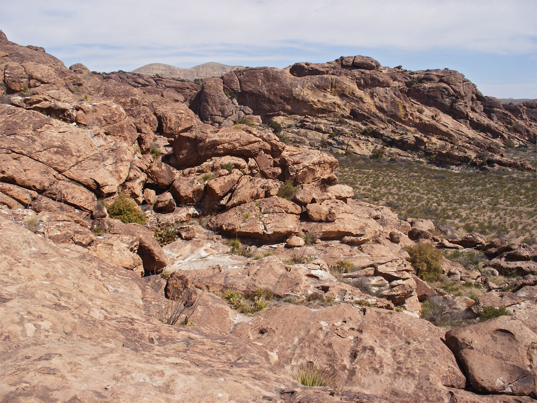 Rocks On North Mountain Hueco Tanks State Park And