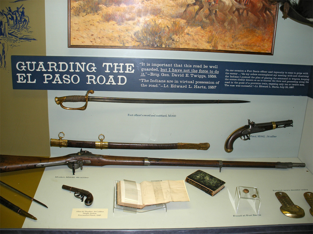 Guns in the museum
