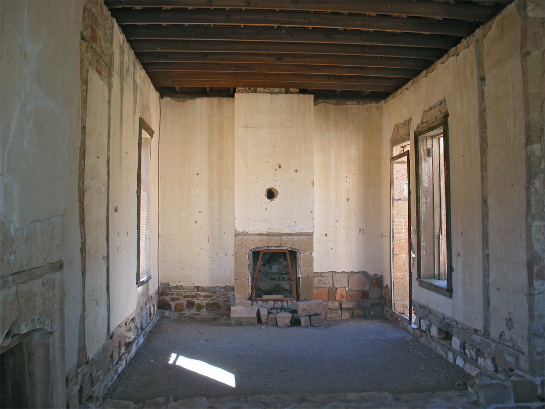 Unrestored room