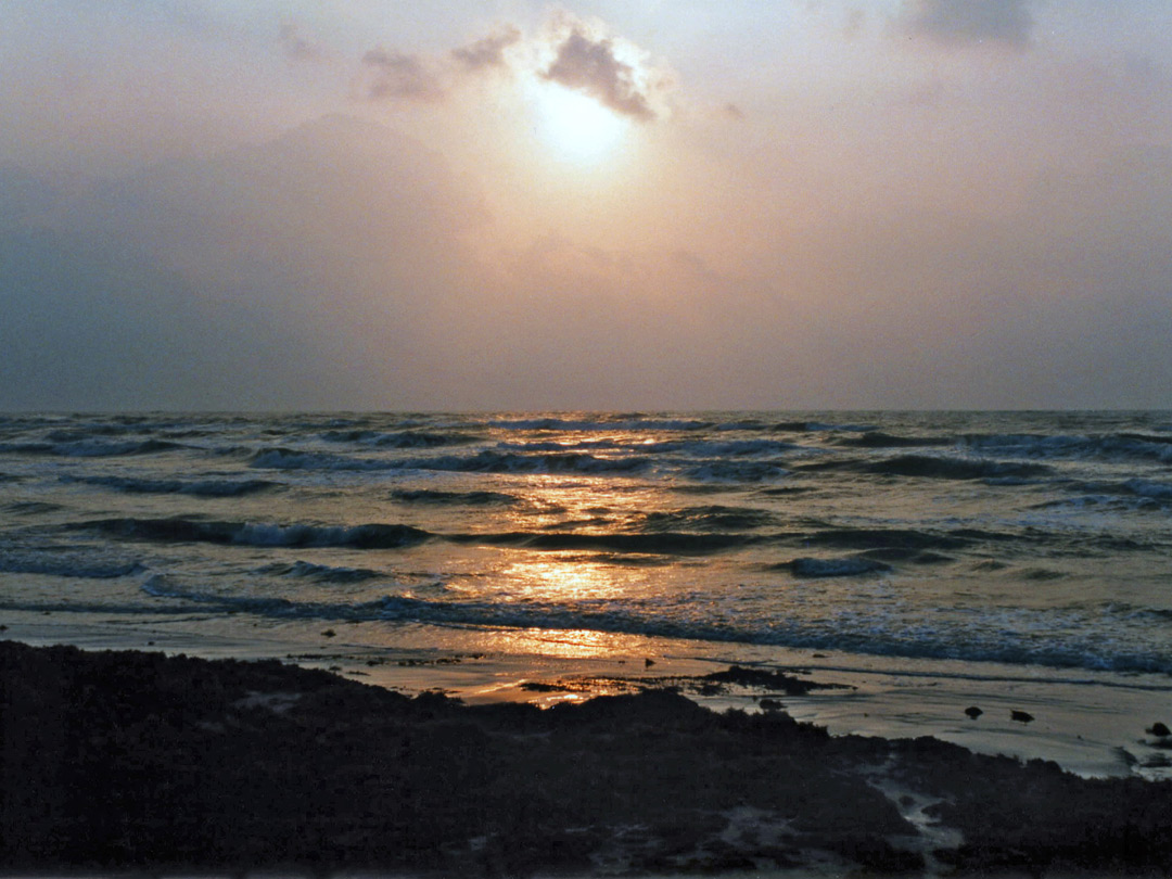 Sunrise over Padre Island