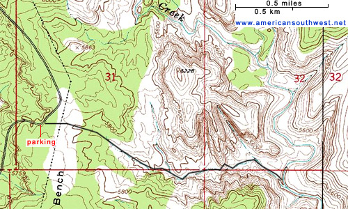 Gallery For Gt Grand Staircase Escalante National Monument Map