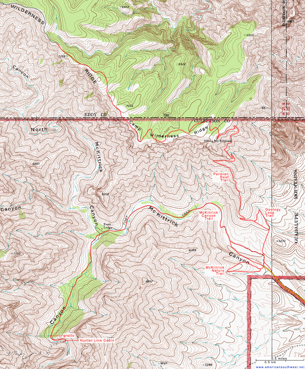 Elevation Map of Texas Texas Topographic Map