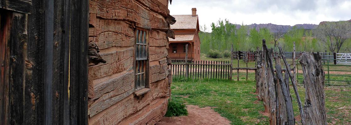 Grafton ghost town, near Zion National Park, Utah