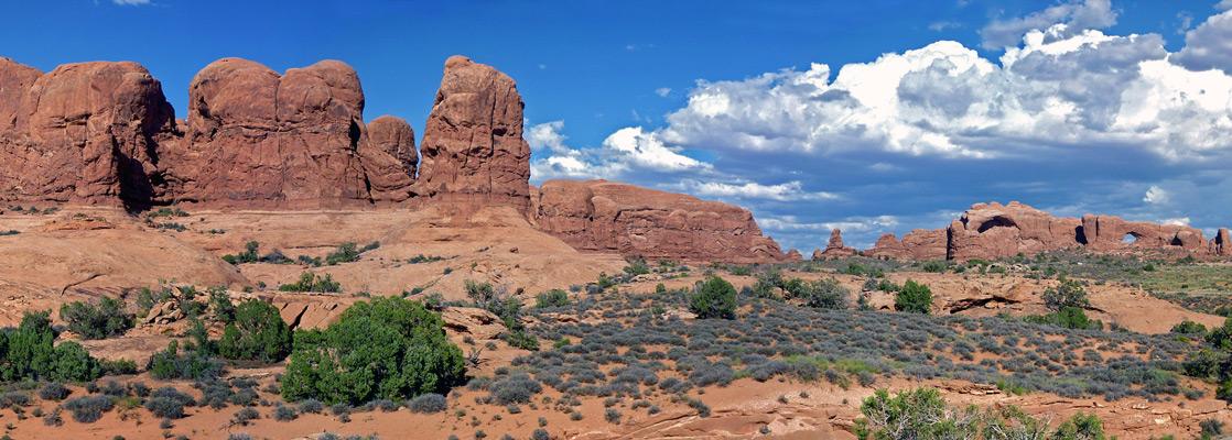 Arches National Park Near Moab Utah