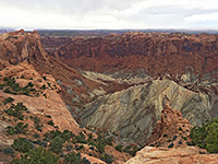 Upheaval Dome Overlook Trail