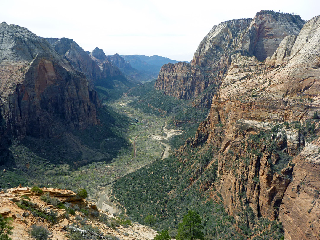 Zion Canyon - downstream