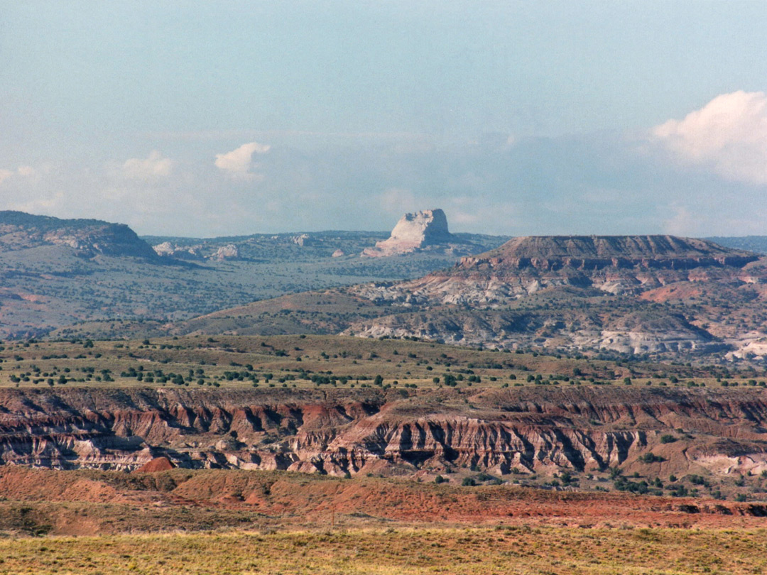 Badlands near the Paria River