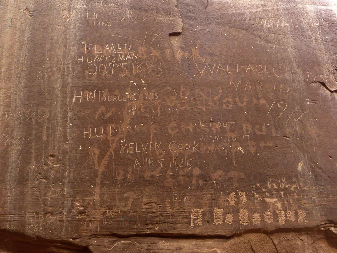 Pioneer inscriptions