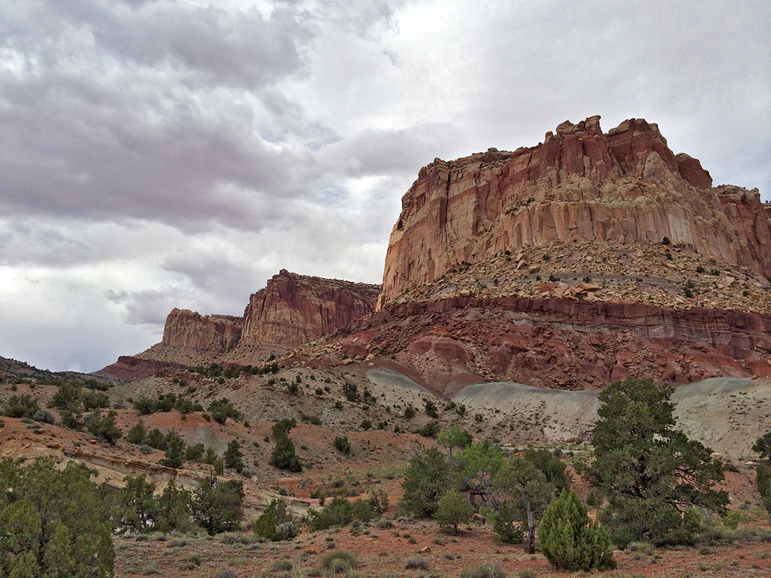 Capitol Reef, from the scenic drive