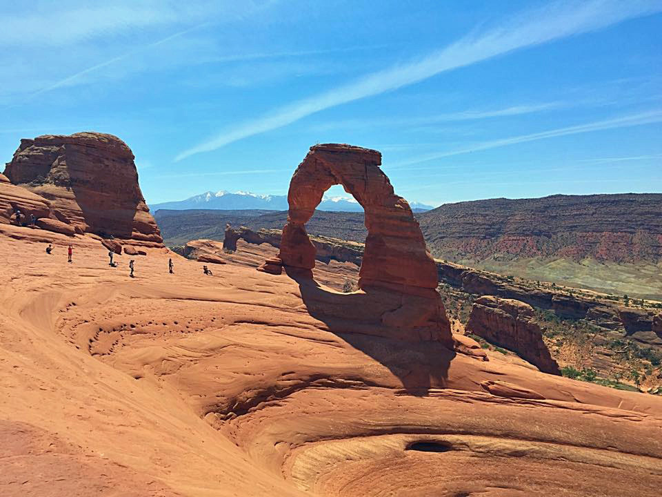 Grand Canyon Hotels >> Delicate Arch Trail, Arches National Park, Utah