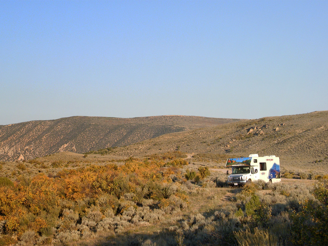 Camping along Route 16