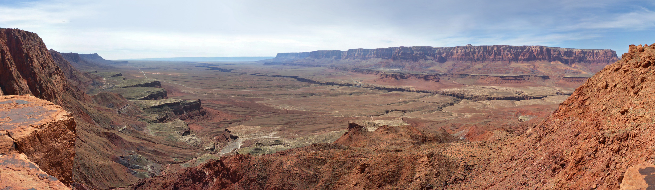 The Vermilion Cliffs, from Echo Pass