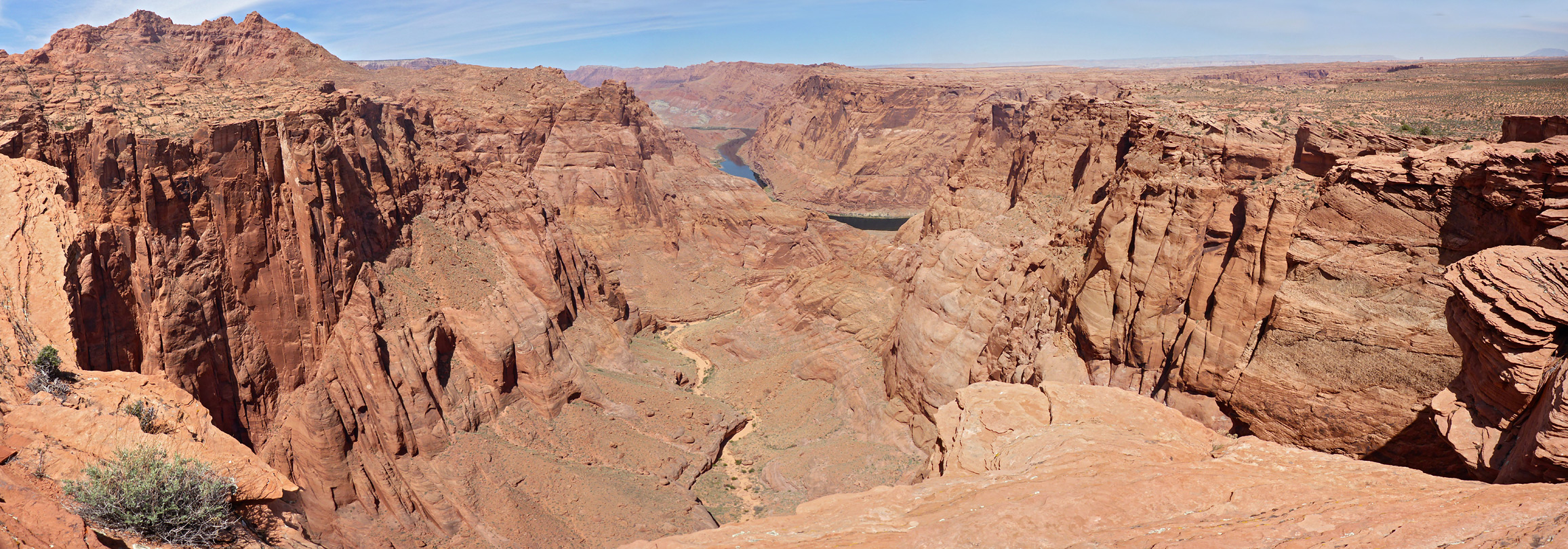 Echo Peaks and the Colorado River