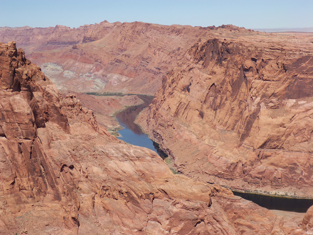 Lower end of Glen Canyon