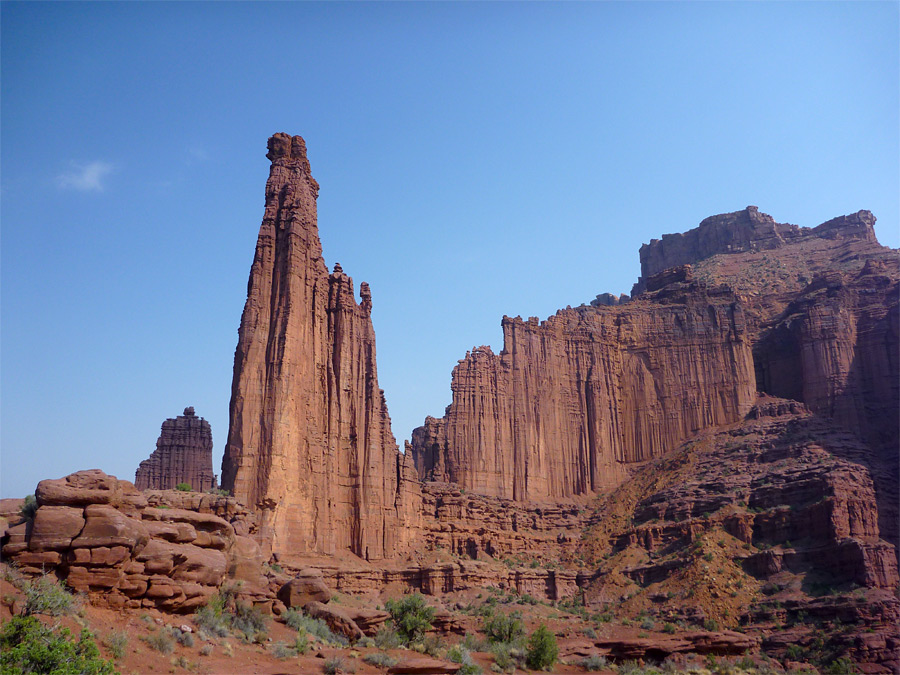 The Titan: the Fisher Towers, Utah