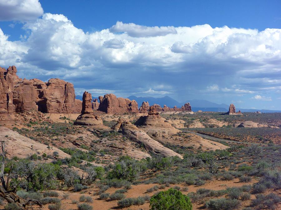Garden Of Eden Arches National Park Utah