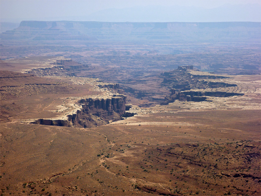 Gooseberry Canyon and the White Rim