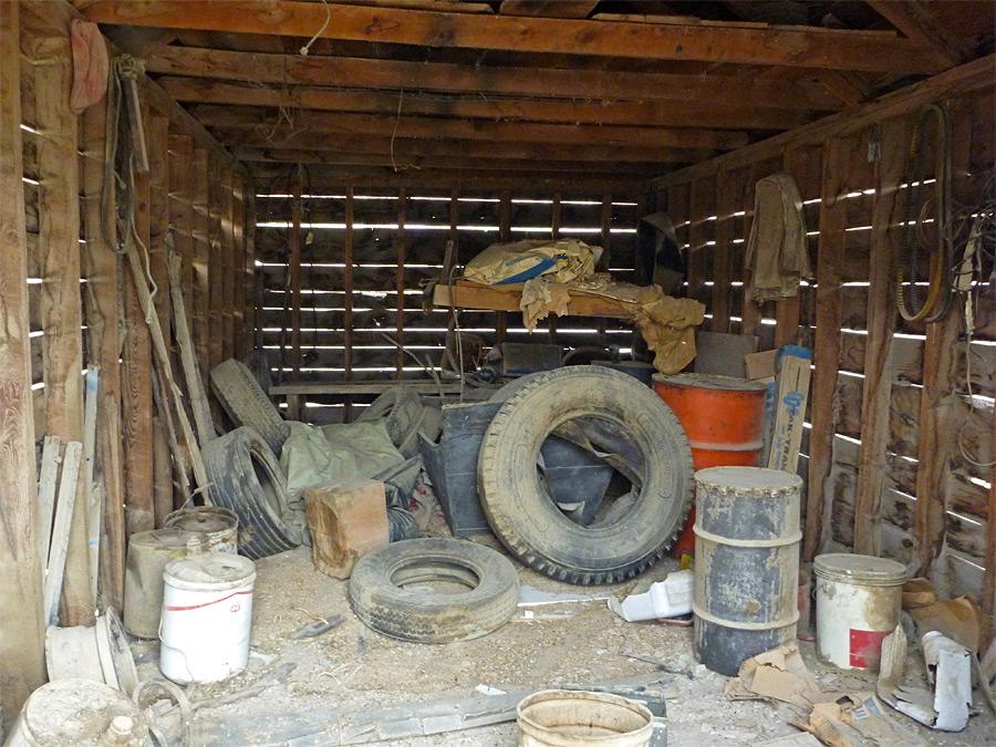 Inside An Old Barn Nine Mile Canyon Utah