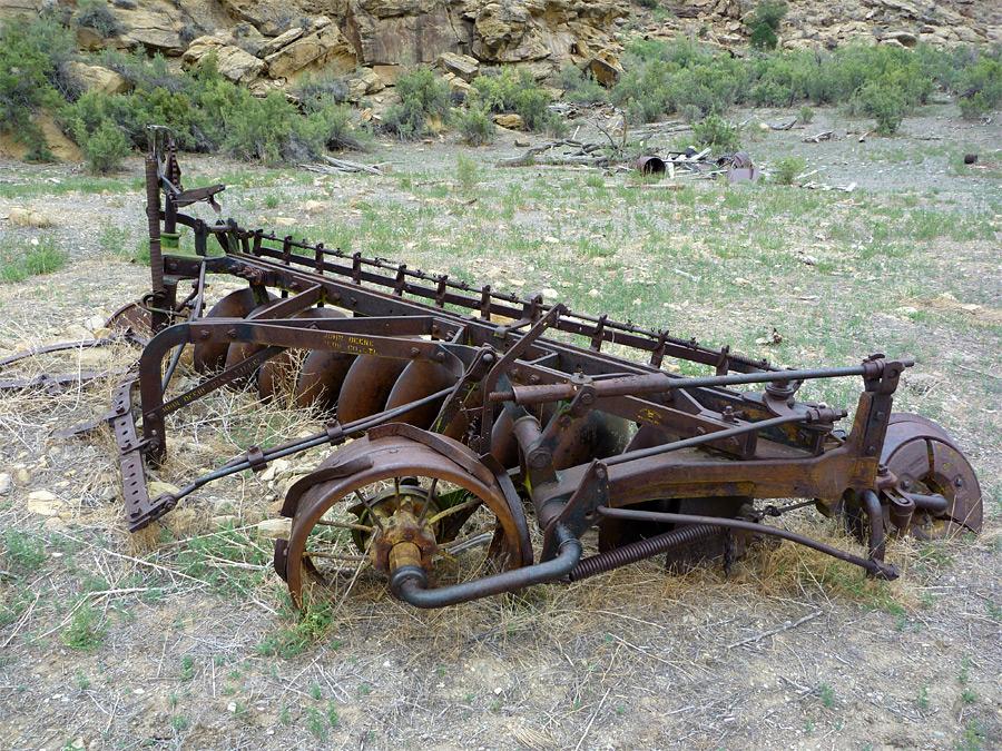 John Deere Gator Plow >> John Deere plow: Nine Mile Canyon, Utah