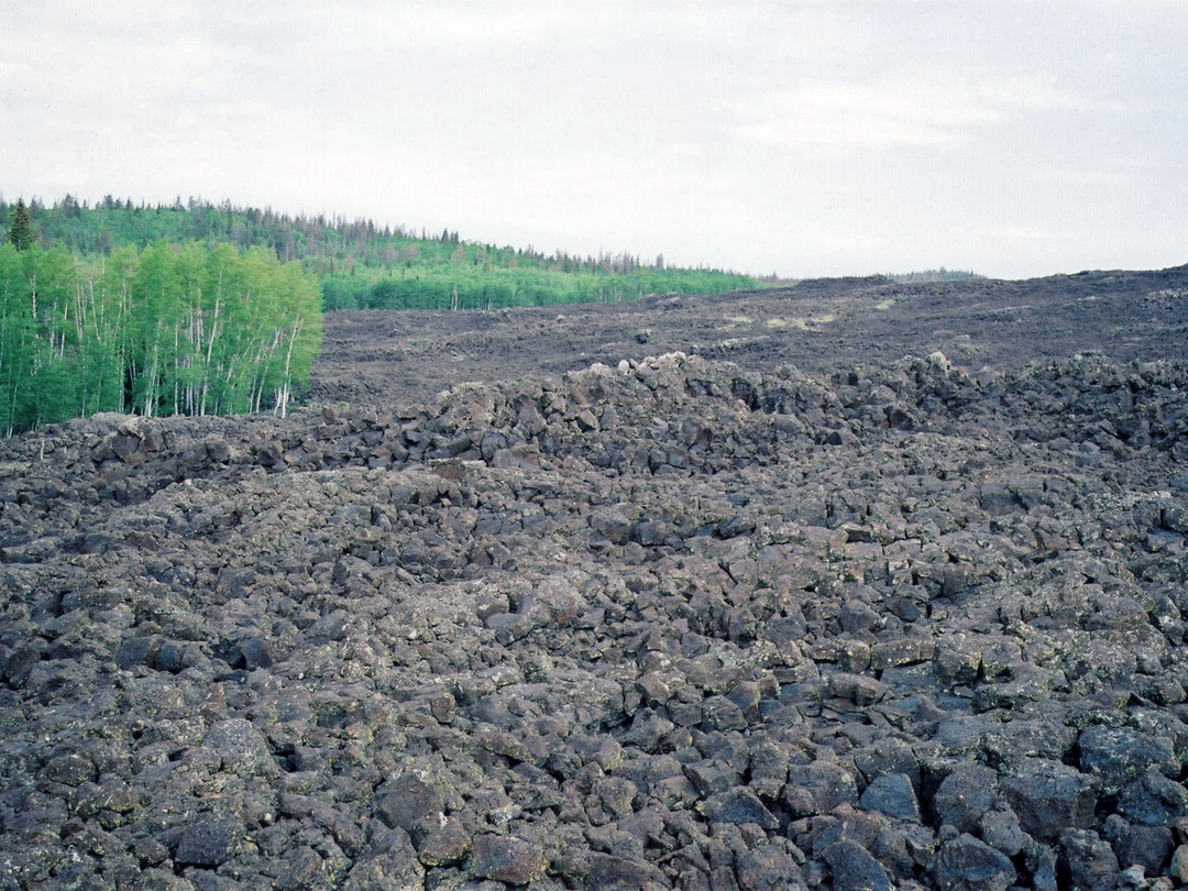 Lava field near Cedar Breaks