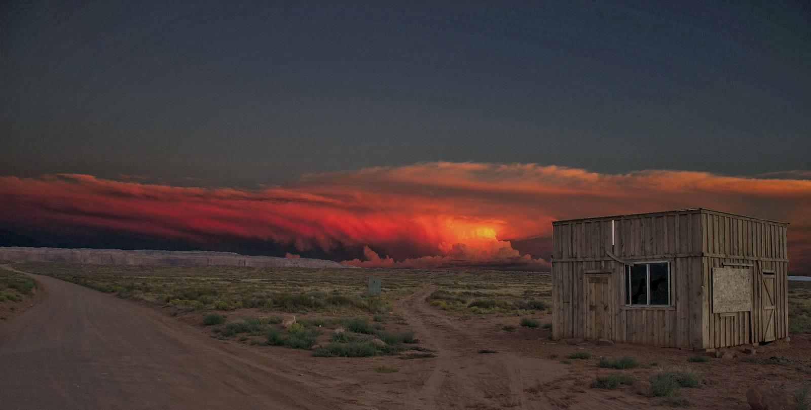 Sunset Monument Valley Arizona