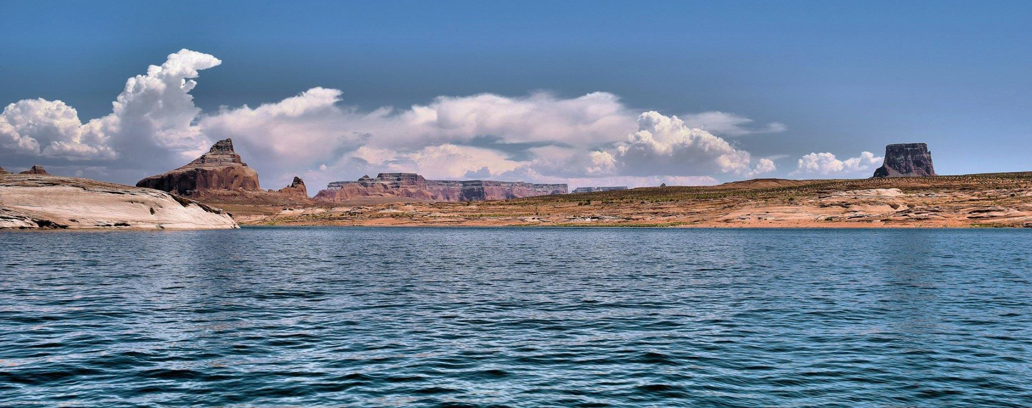 Padre Bay and Tower Butte