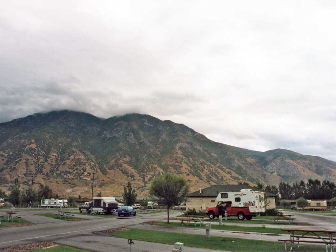 RV site in Provo