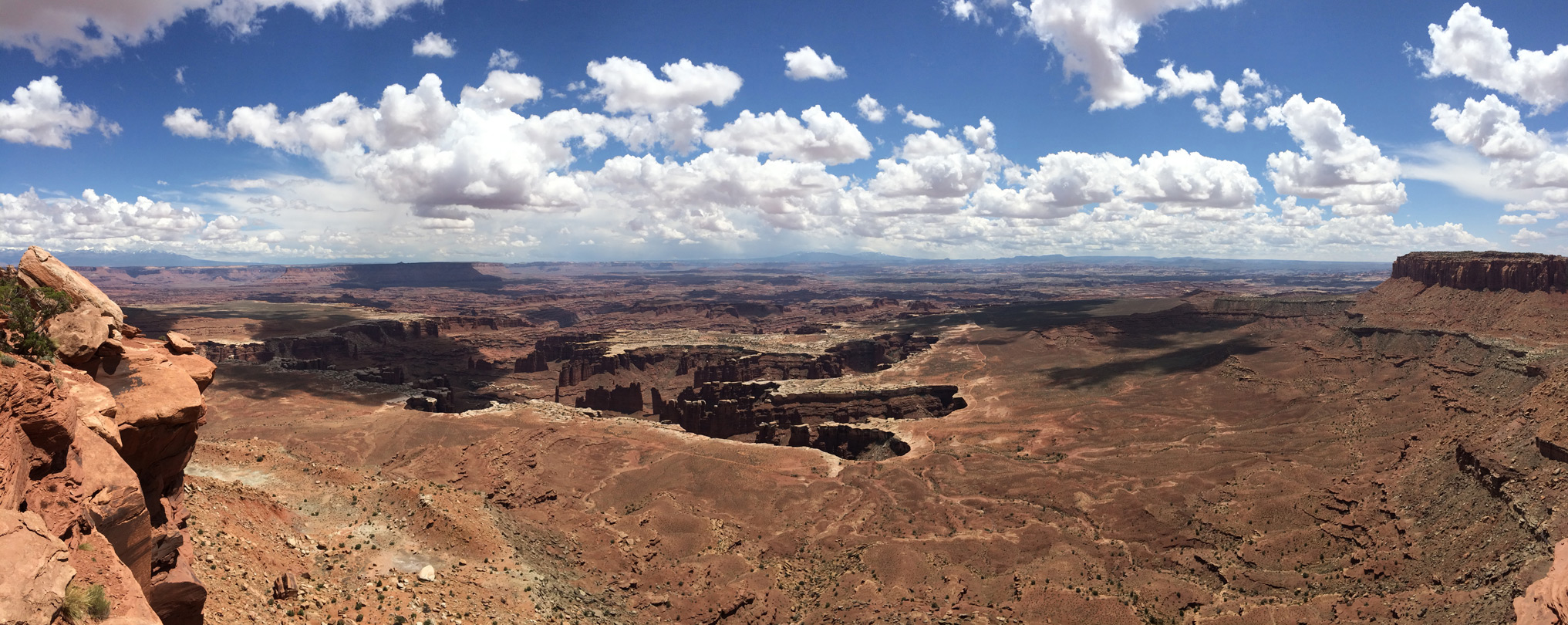 Edge of Monument Basin, from Grand View Point: Island in ...