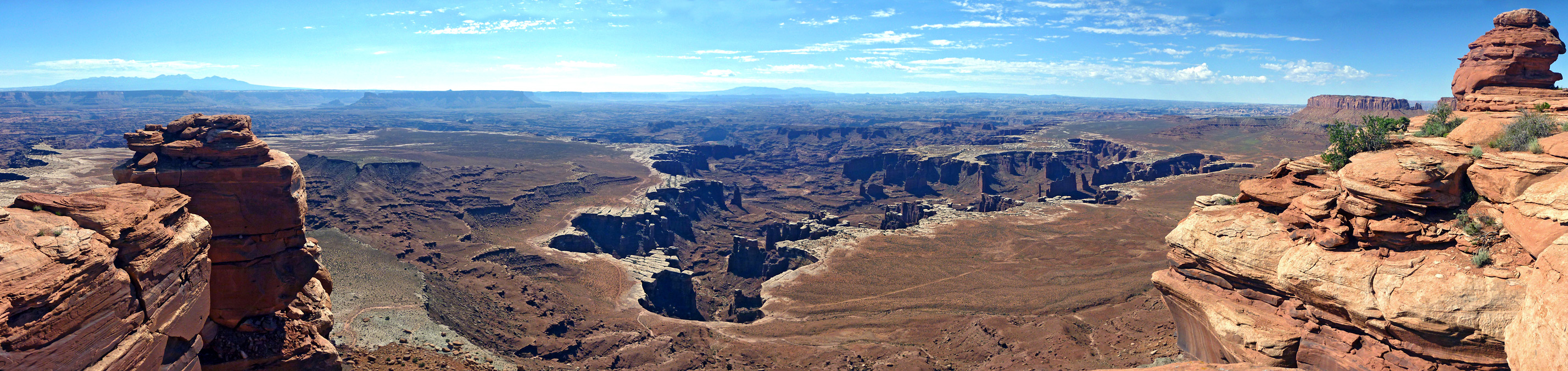 Monument Basin from White Rim Overlook