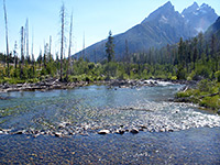 Stream from String Lake