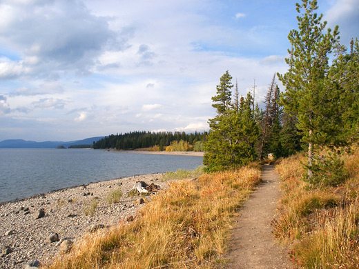 Lakeshore Trail, Grand Teton National Park, Wyoming