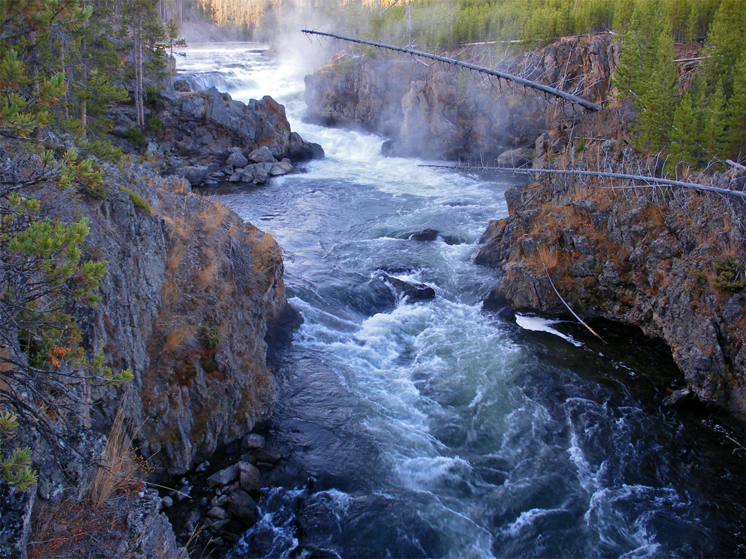 Cascades of the Firehole