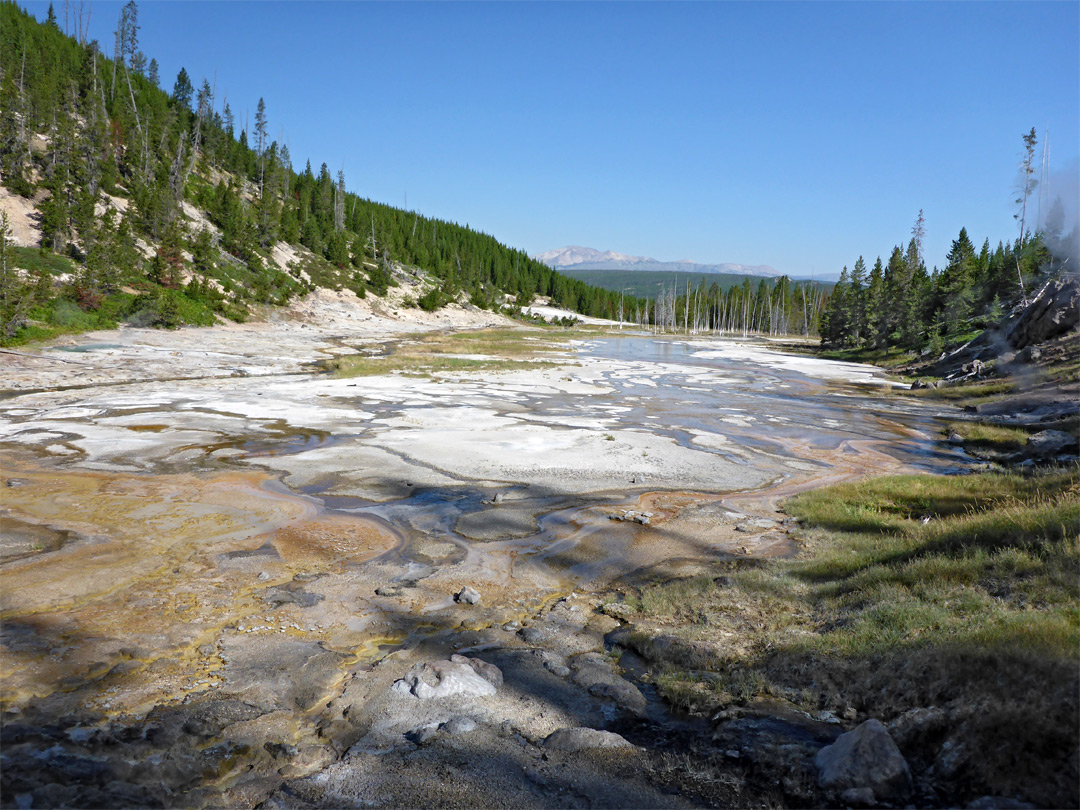 Lower section of Geyser Springs
