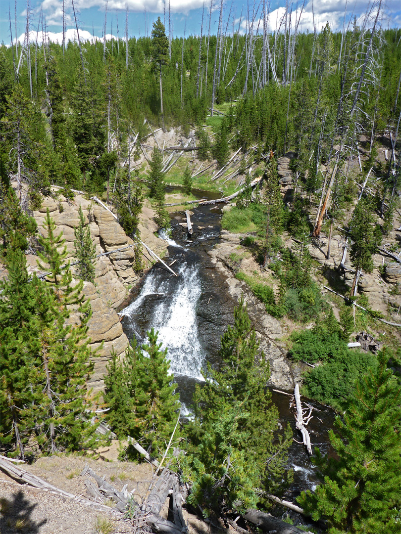Little Gibbon Falls