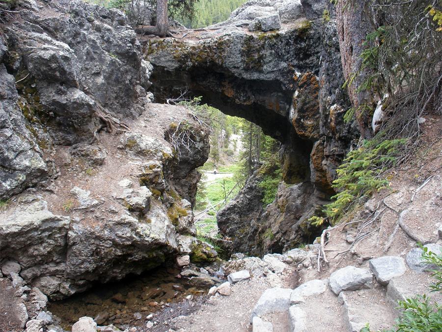 Natural Bridge Park Wyoming