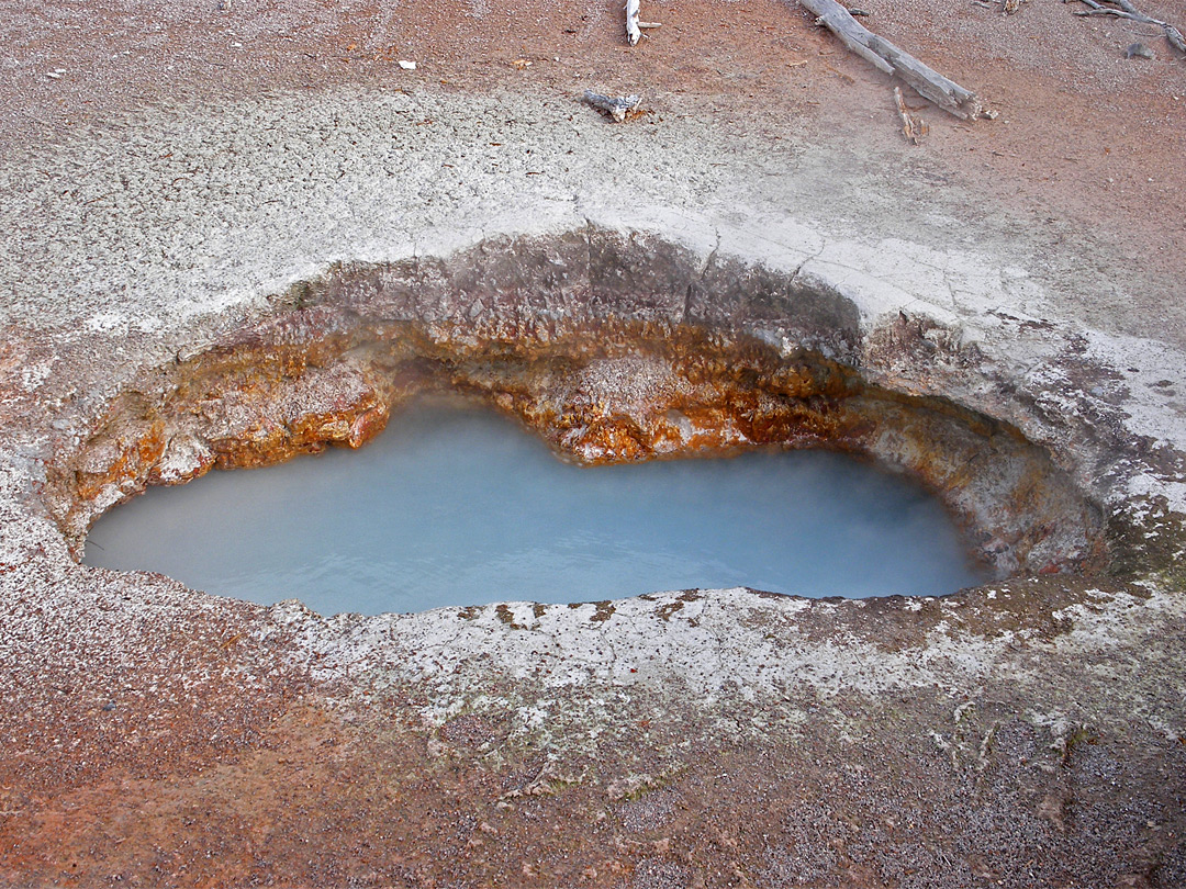 Paint Pots Yellowstone National Park 900 x 675