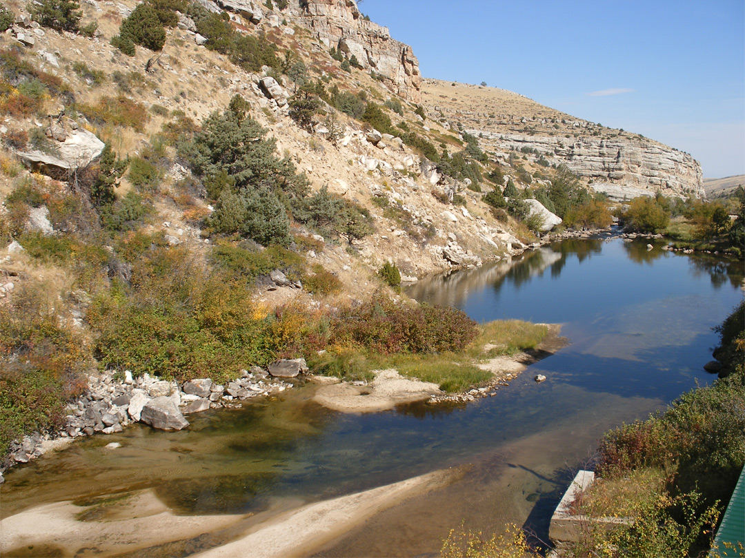 Popo Agie River The Rise Sinks Canyon State Park Wyoming
