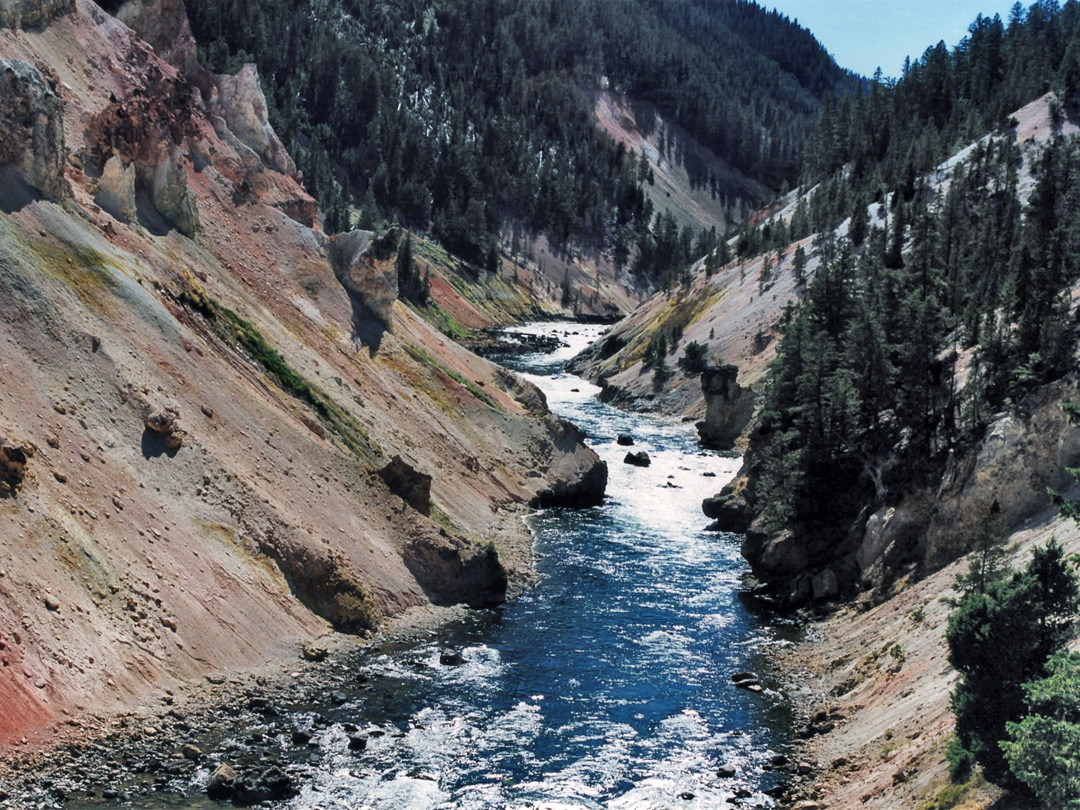 Yellowstone River - upstream